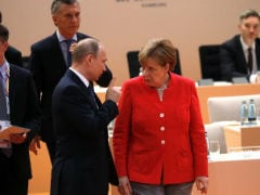 Merkel Appears To Roll Her Eyes At Putin, And The Internet Can't Get Enough