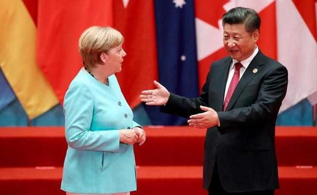 Panda Diplomacy: Angela Merkel, Xi Jinping Pushed Into Awkward Embrace Before G20 Summit