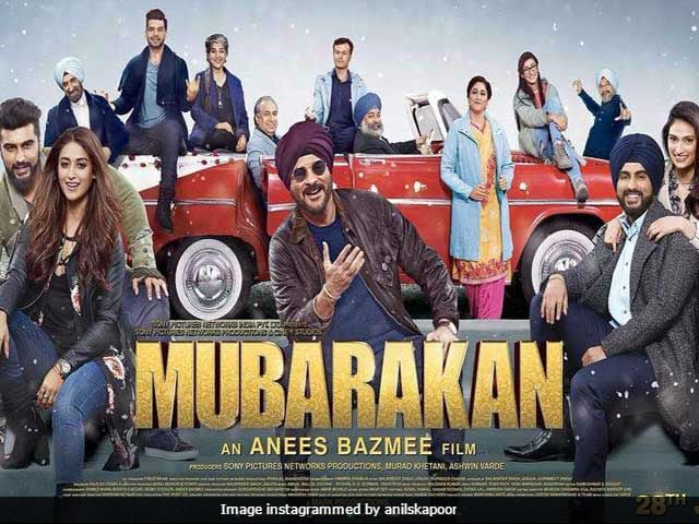 Image result for Mubarakan film posters