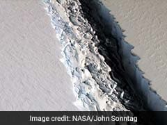 NASA Unveils Stunning Images Of Massive Antarctic Iceberg