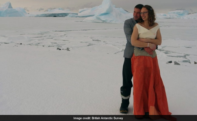 In A Stunning First, Couple Marries In Antarctica In Sub-Zero Temperatures
