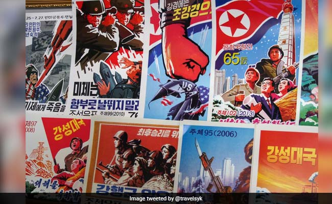 North Korea's Long History Of Attacking America - With Anti-US Stamps
