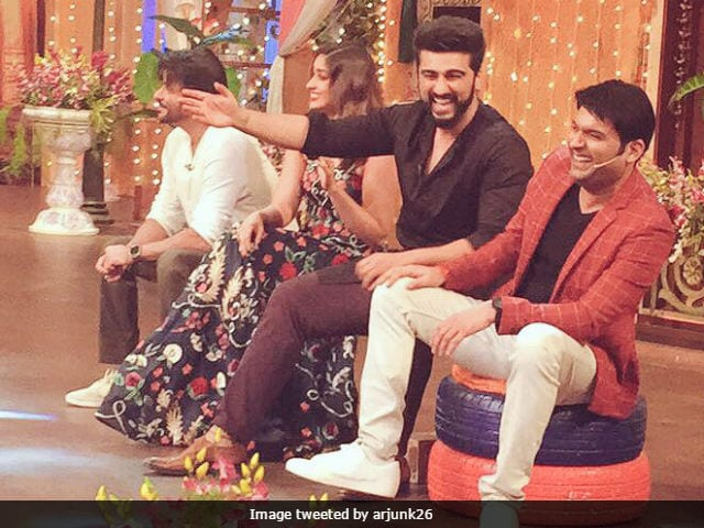 One Failed Attempt Later, Kapil Sharma Records With Team Mubarakan