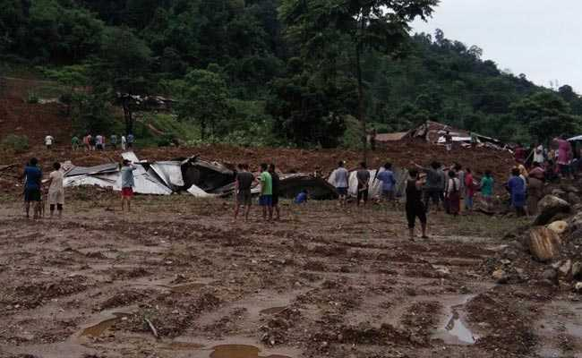 14 people feared dead in a landslide in Arunachal Pradesh