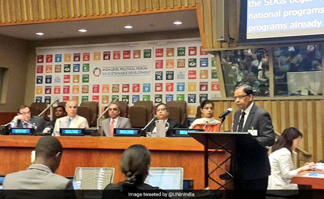 India Presents Report On Sustainable Development Goals Implementation In UN