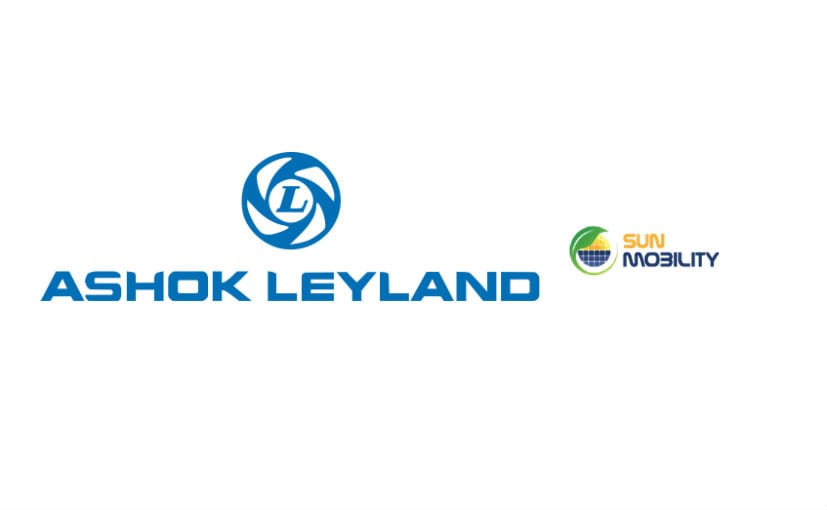 Ashok Leyland and SUN Mobility Announce Alliance For Electric Mobility Solutions