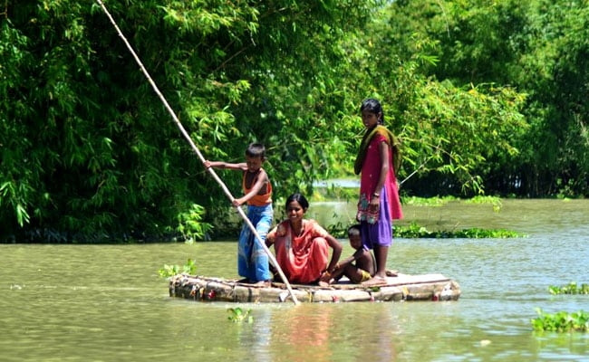 Number Of Dead Now 65 In Assam Floods
