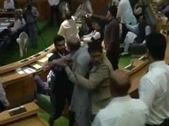 Jammu And Kashmir Assembly Staff Falls Unconscious After Ruckus In House