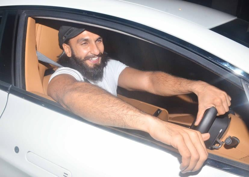 Aston Martin Offers >> Ranveer Singh Gifts Himself An Aston Martin Rapide S ...