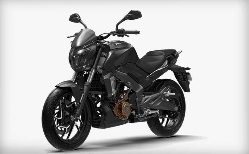 bajaj dominar matte black edition
