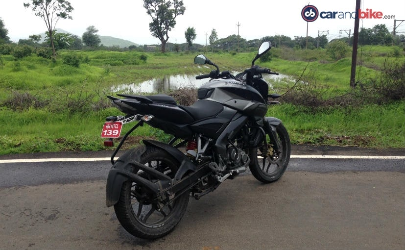 bajaj pulsar ns160 first ride