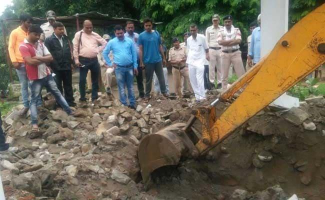 Gandhi Memorial Dug Up In Madhya Pradesh, Officials Blame Gujarat Floods