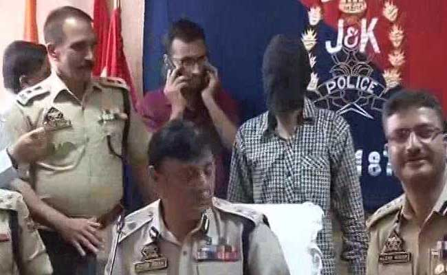 Jammu and Kashmir police bust LeT module, arrest UP resident