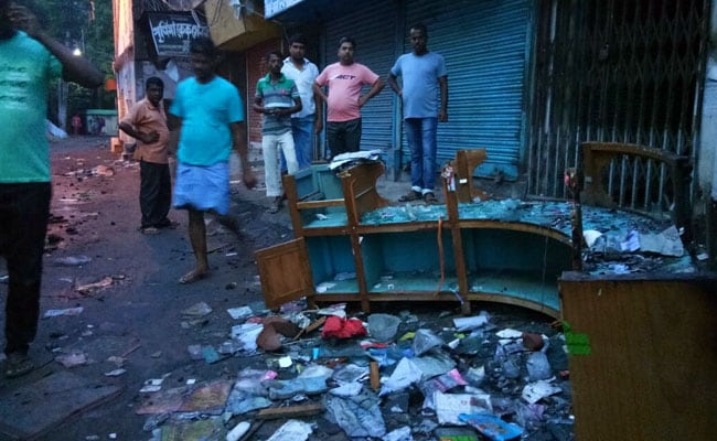 bashirhat riots vandalism