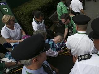 Wimbledon 2017: Americas Bethanie Mattek-Sands Suffers Horror Injury