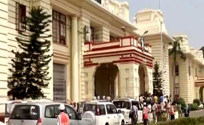 सृजन घोटाला : बिहार विधानसभा में विपक्ष ने किया हंगामा