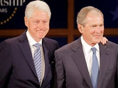 How Bill Clinton And George W. Bush Got Over Their Politics And Became BFFs