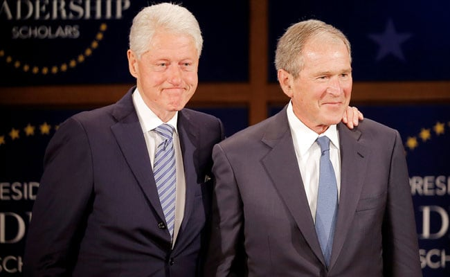 How Bill Clinton And George W Bush Got Over Their Politics And
