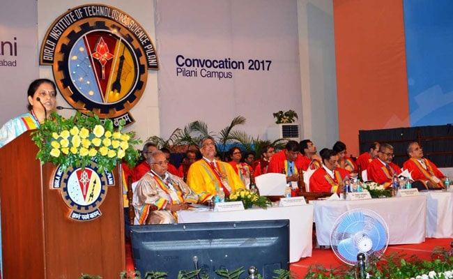 BITS Pilani Holds Convocation 2017, Dr Tessy Thomas Chief Guest