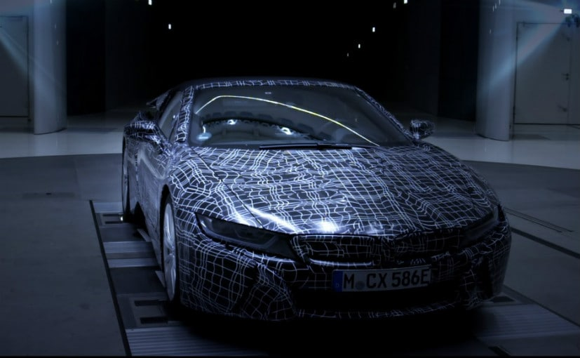 bmw i8 roadster teased
