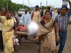In Chhattisgarh, Family Hires Hand Cart To Carry Girl's Body Home