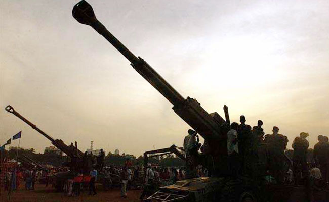 bofors guns file photo