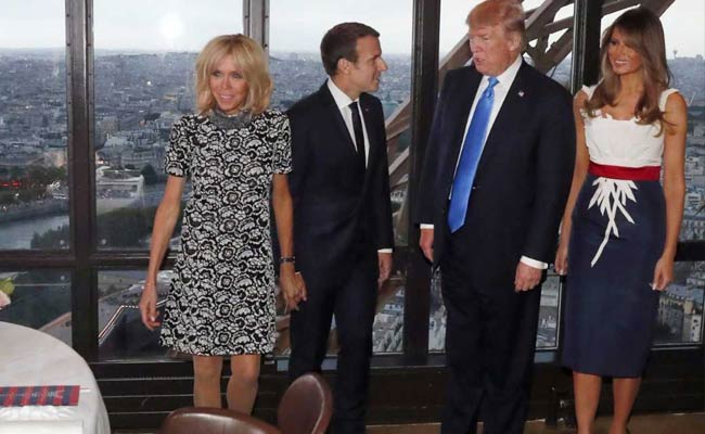 Trump Told Macron's Wife 'You're In Such Good Shape' And 'Beautiful'