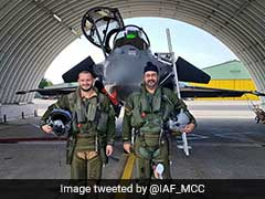 Indian Air Force Chief BS Dhanoa Flies Rafale Jet In France