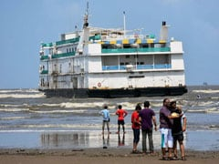 Casino Ship Hits Sandbar In Goa, 4 Crew Members Rescued
