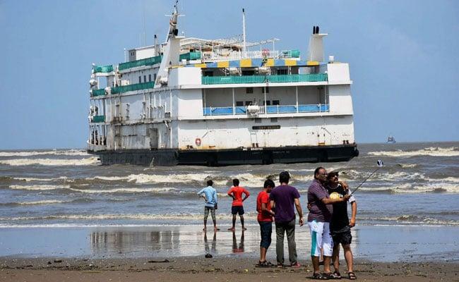 Casino Ship Hits Sandbar In Goa, 4 Crew Members Rescued
