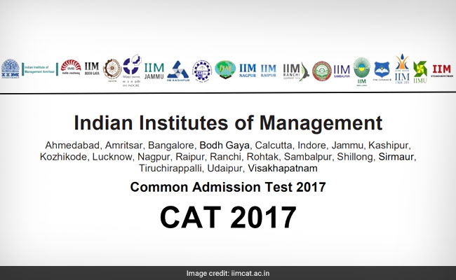 CAT 2017 Admit Card Not Today, IIM Lucknow Gives Official Update