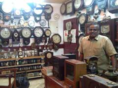 286-Year-Old Clock And Many More Still Ticking In This Chennai Man's House