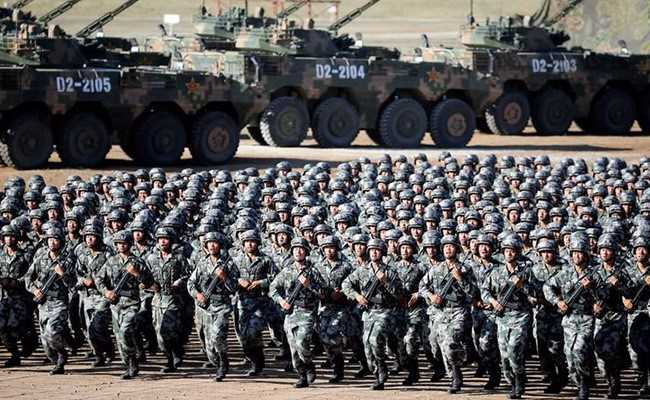 China's Defence Budget Increases 850% Over 20 Years: Pentagon Official