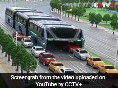 China's Elevated Bus Went Viral Last Year. It May Have Been A Scam