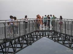 World's Longest Skywalk Has Glass Bottom, 400 Feet Above Gaping Chasm