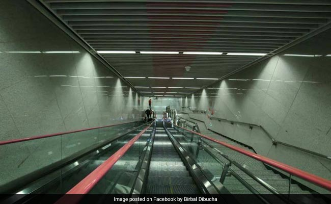 China's Deepest Subway Station Located 31 Storeys Below Ground