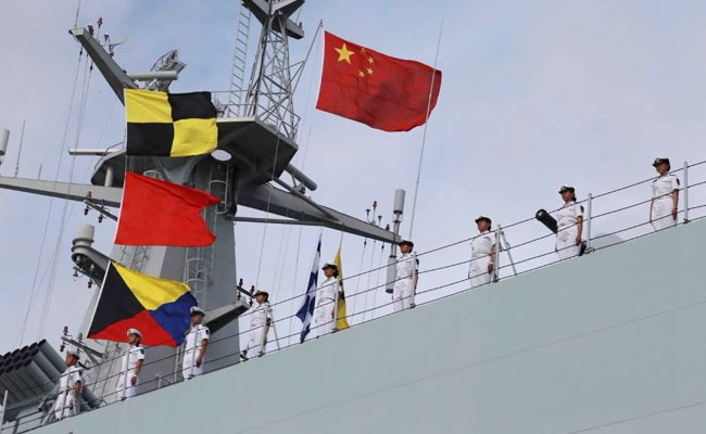 'India Keeping Constant Watch': Government On China's Maritime Objective