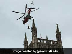 Man Falls Sick On Top Of 300-Foot-Tall Bell Tower. Chopper Rescue Follows