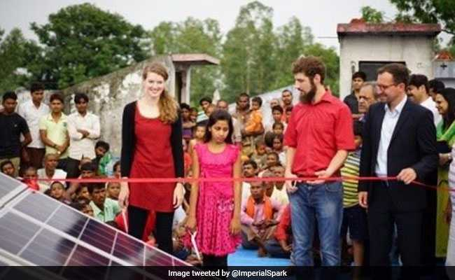 UK Student Clementine Chambon Uses Solar Power To Light Up Indian Village