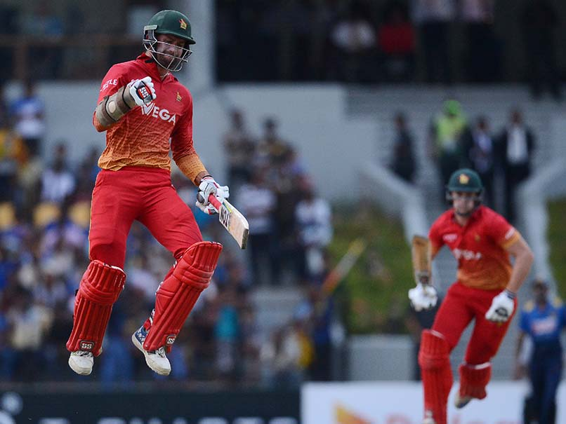 4th ODI: Craig Ervine Helps Zimbabwe Beat Sri Lanka By Four Wickets Via D/L Method, Level Series