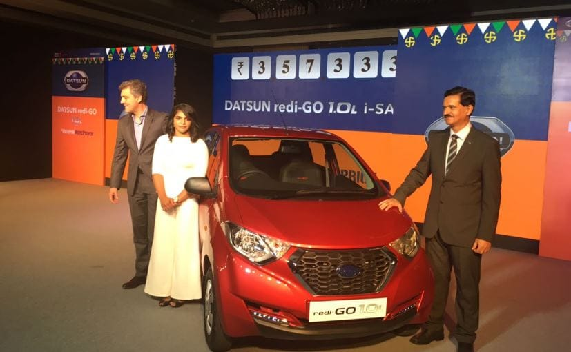 Datsun Redi-Go 1.0L launched at Rs. 3.57 lakhs (ex-showroom)
