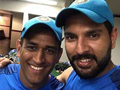 As MS Dhoni Turns 36, A Special Birthday Message From Yuvraj Singh