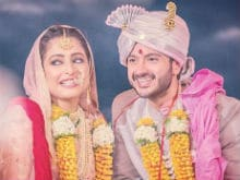 Actor Dhruv Bhandari Marries Fiancee Shruti Merchant. Pics Here