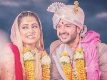 Actor Dhruv Bhandari Marries Fiancee Shruti Merchant. Pics Here
