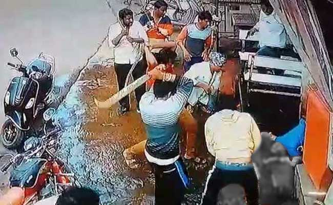 In Video Of Brutal Murder On Road, Man Struck 27 Times With Swords
