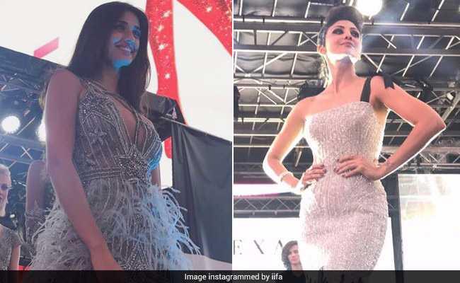 IIFA 2017: रैम्प पर दिशा पाटनी ने बिखेरा फैशन का जलवा, शिल्पा शेट्टी ने भी दिखाई अदाएं