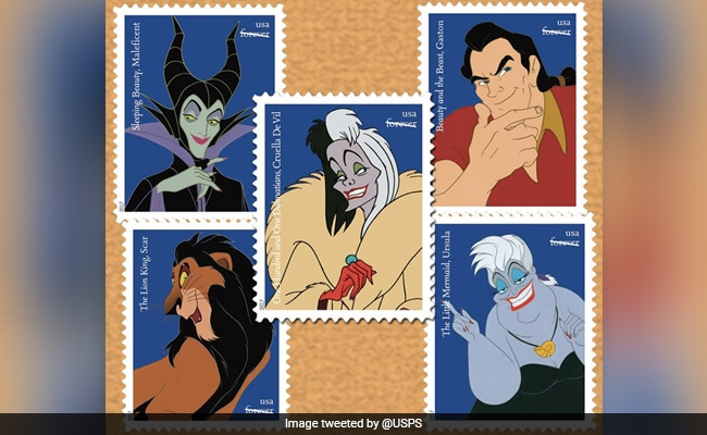 Disney Villains Feature On New US Postage Stamps