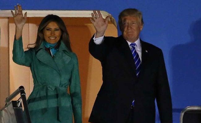 US President Donald Trump Arrives In Warsaw, Kicking Off Landmark Europe Trip