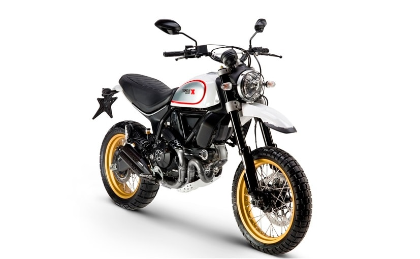 ducati scrambler desert sled launched in india prices start at rs lakh ndtv carandbike. Black Bedroom Furniture Sets. Home Design Ideas