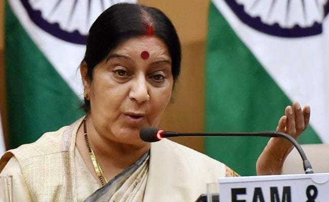 Sushma Swaraj On 2-Day Visit To Bangladesh From Tomorrow
